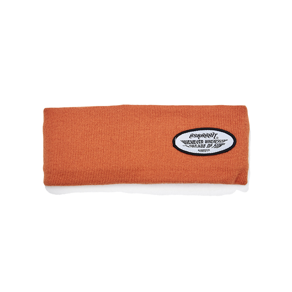 자체브랜드 WEWE WAPPEN HEADBAND ORANGE