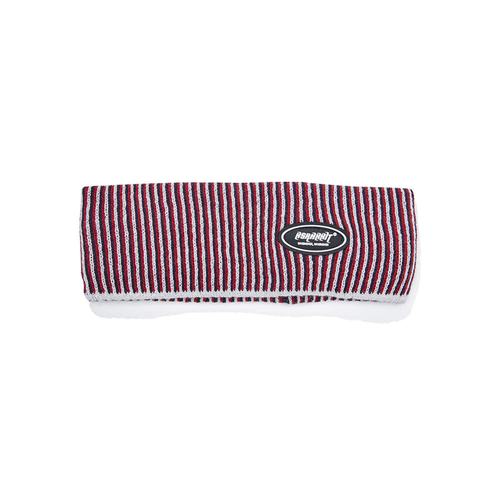 자체브랜드 LOGO WAPPEN HEADBAND RED STRIPE