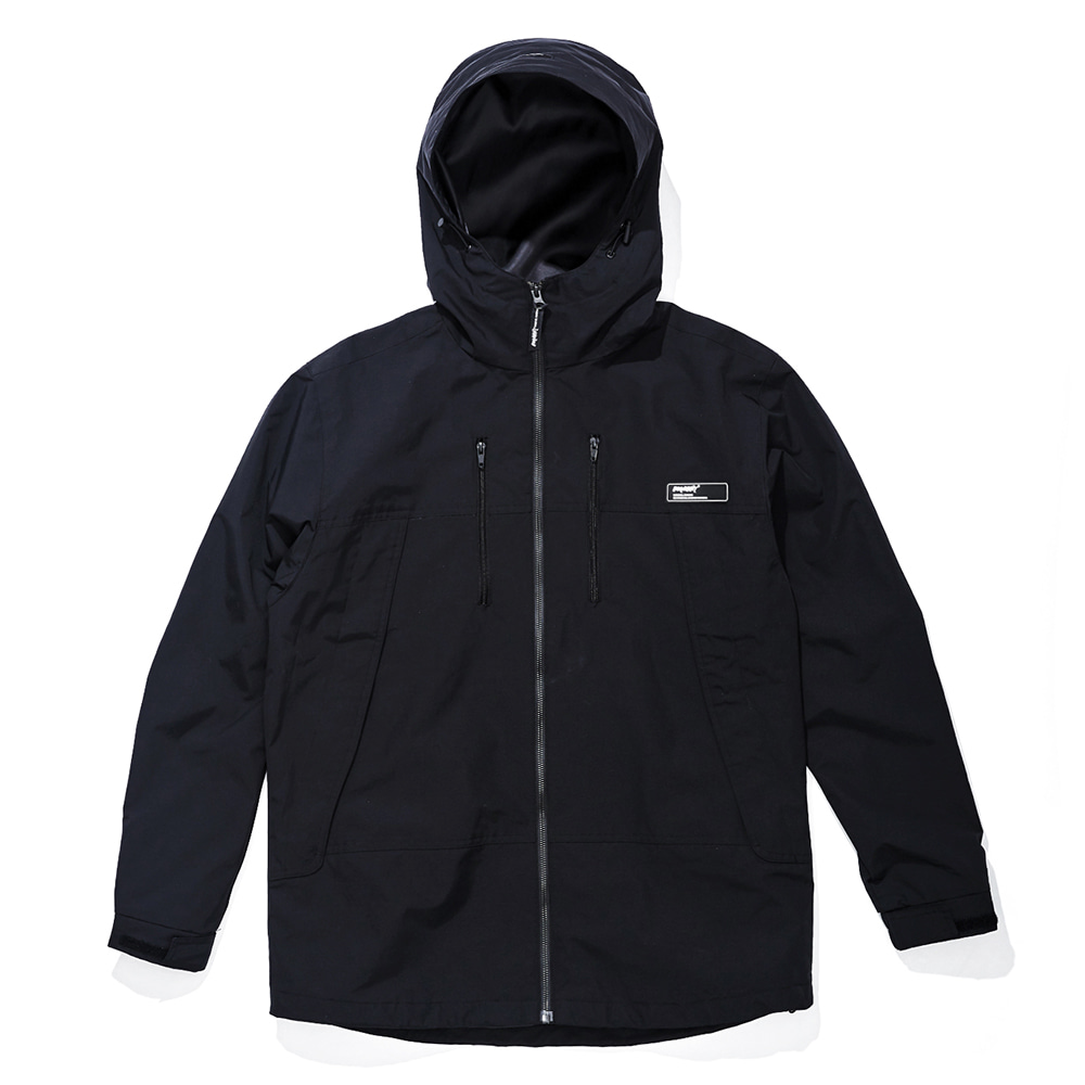 자체브랜드 MMM WINDBREAKER JACKET BLACK