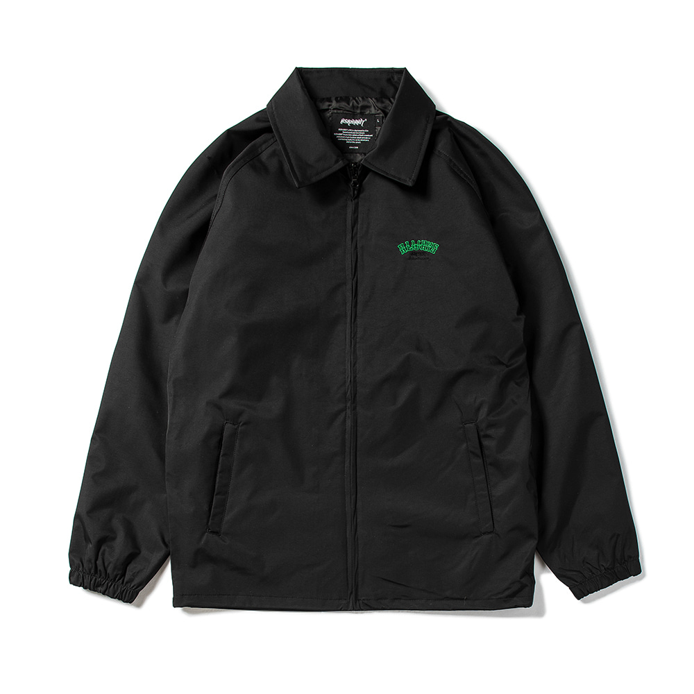 자체브랜드 ALWAYS COACH JACKET BLACK