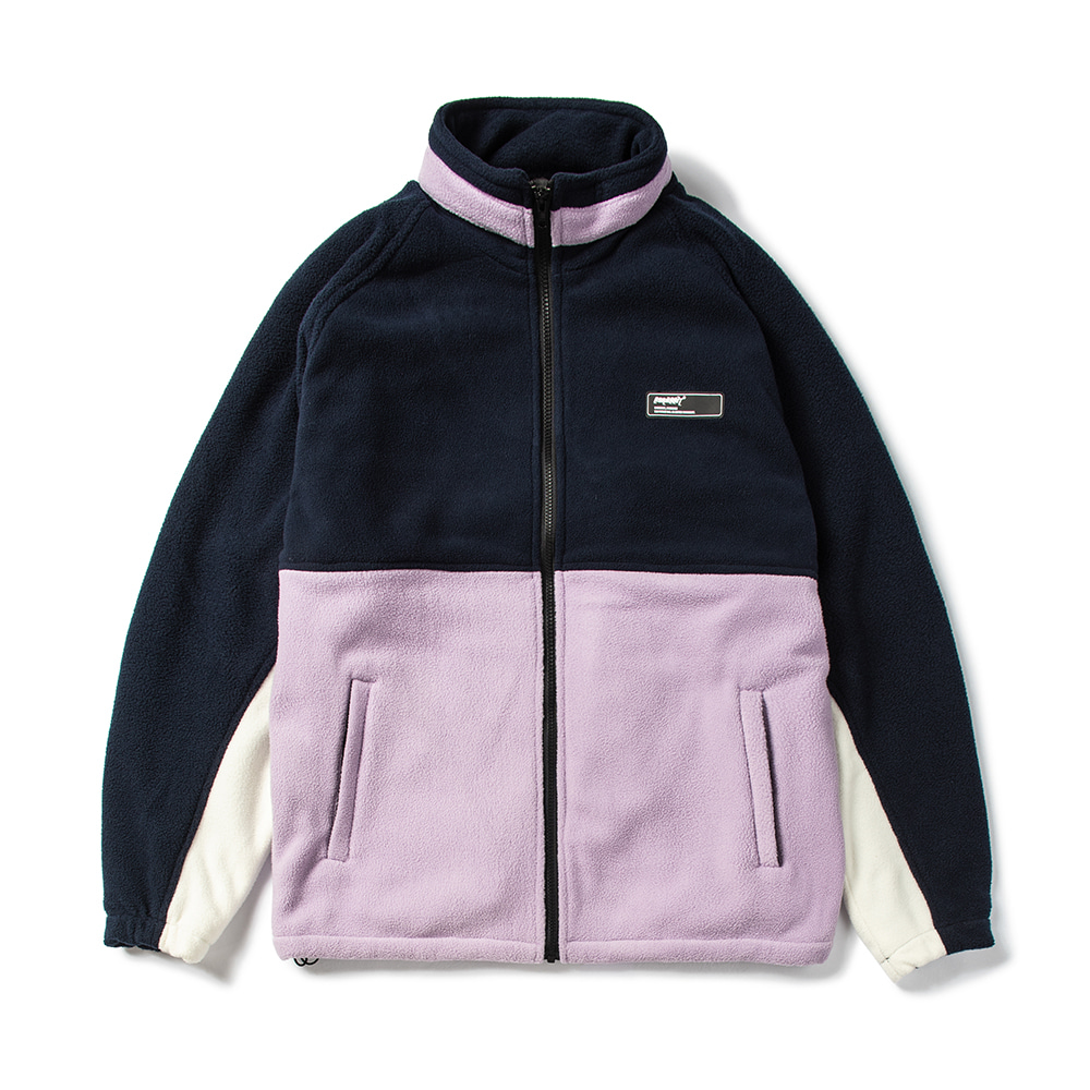 자체브랜드 TOASTY FLEECE JACKET NAVY / PURPLE