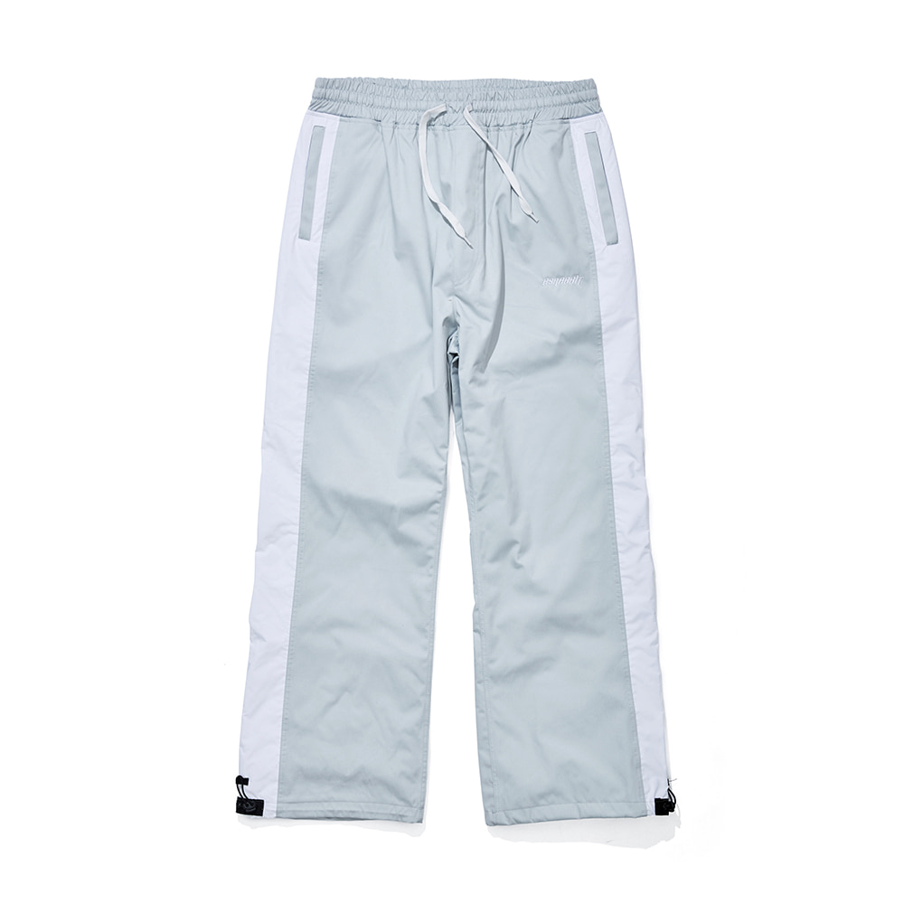 자체브랜드 DENIM LINE TRACK PANTS SNOW GRAY