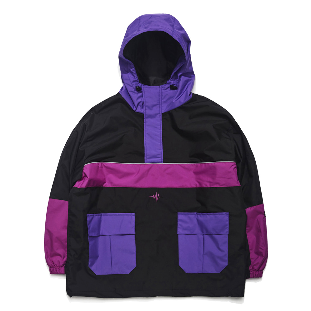 자체브랜드 RTRSIK ANORAK JACKET BLACK