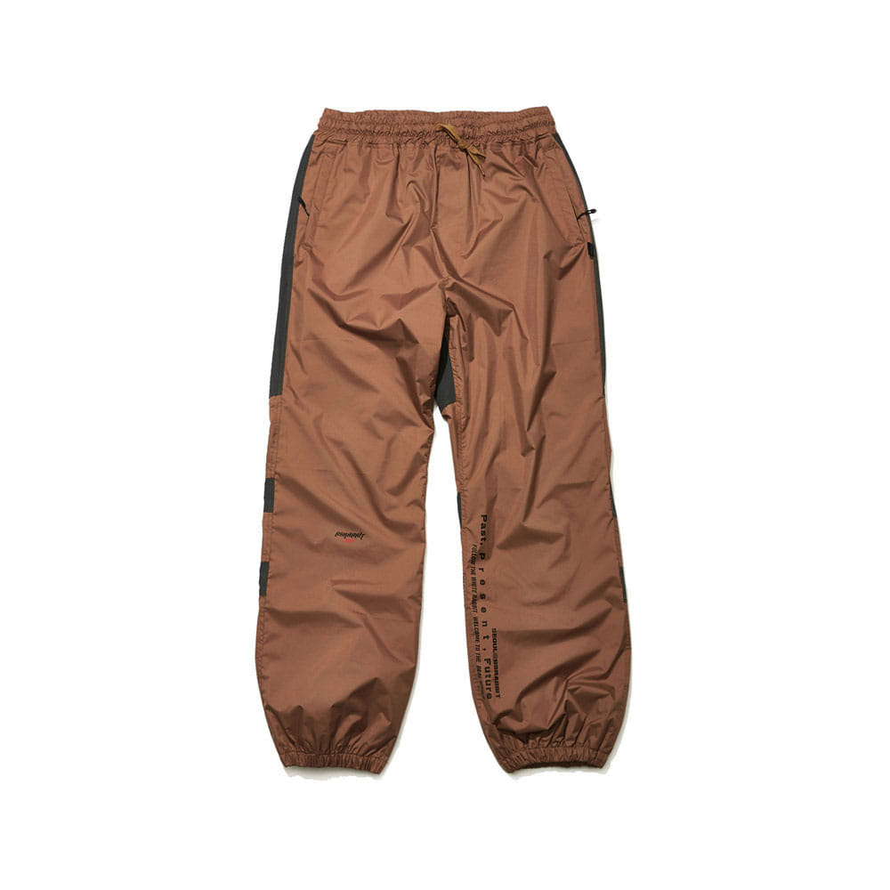 BSRABBIT BSR ACTIVE JOGGER PANTS BROWN