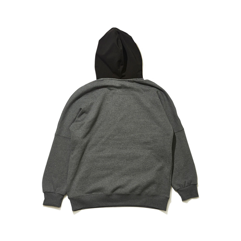 BSRABBIT ALWAYS FUN HOODIE DARK GRAY