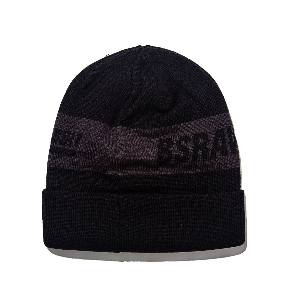 BSRABBIT BFW KNIT BEANIE BLACK
