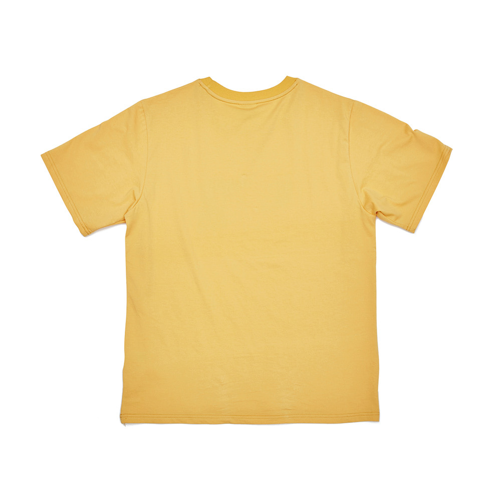 BSRABBIT WWRTR T-SHIRTS YELLOW