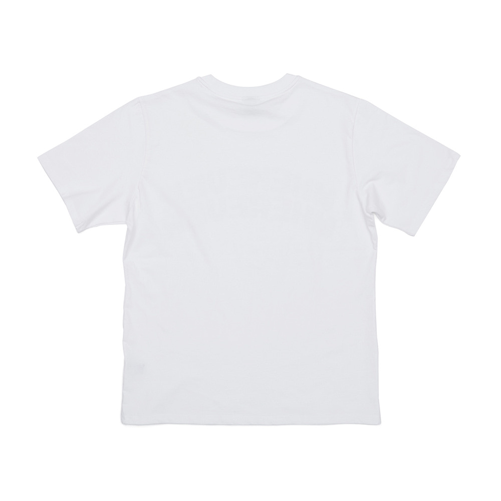 BSRABBIT WEWE RUN T-SHIRTS WHITE