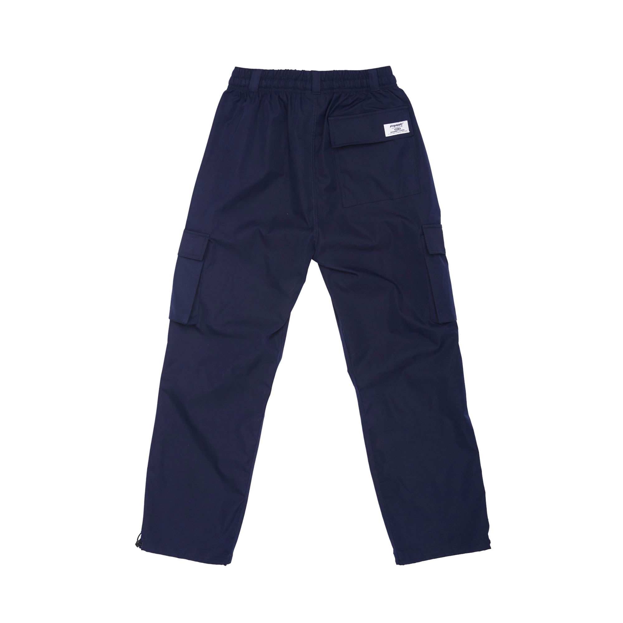 BSRABBIT BSRBT STRETCH TWILL CARGO TRACK PANTS NAVY
