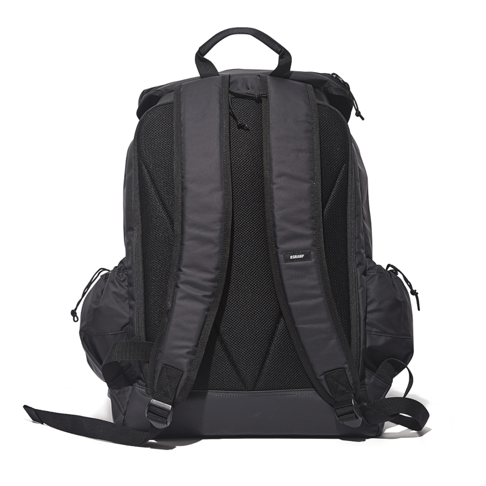 자체브랜드 BSRABBIT TWO POCKET BACK PACK BLACK