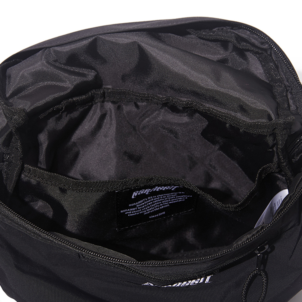 자체브랜드 BSRBT IDEAL WAIST BAG BLACK