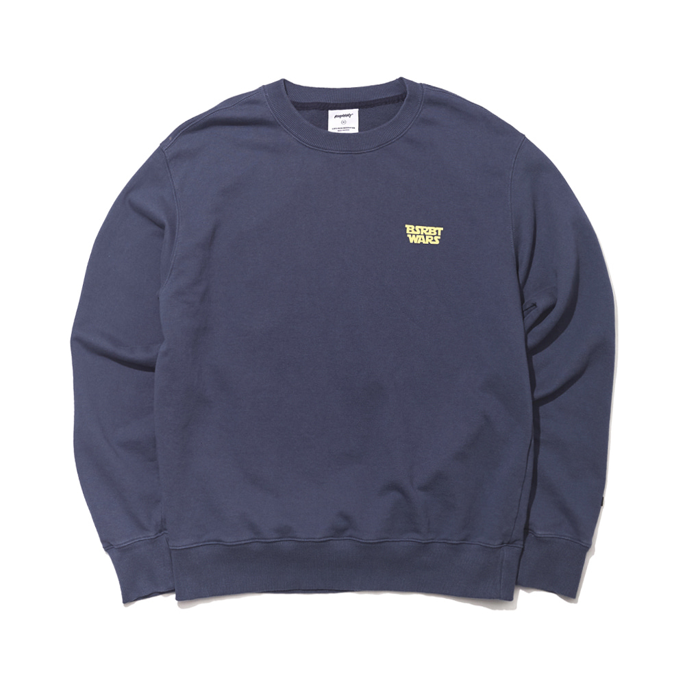 자체브랜드 RABBIT WARS WELCOME DRY SWEAT SHIRT NAVY