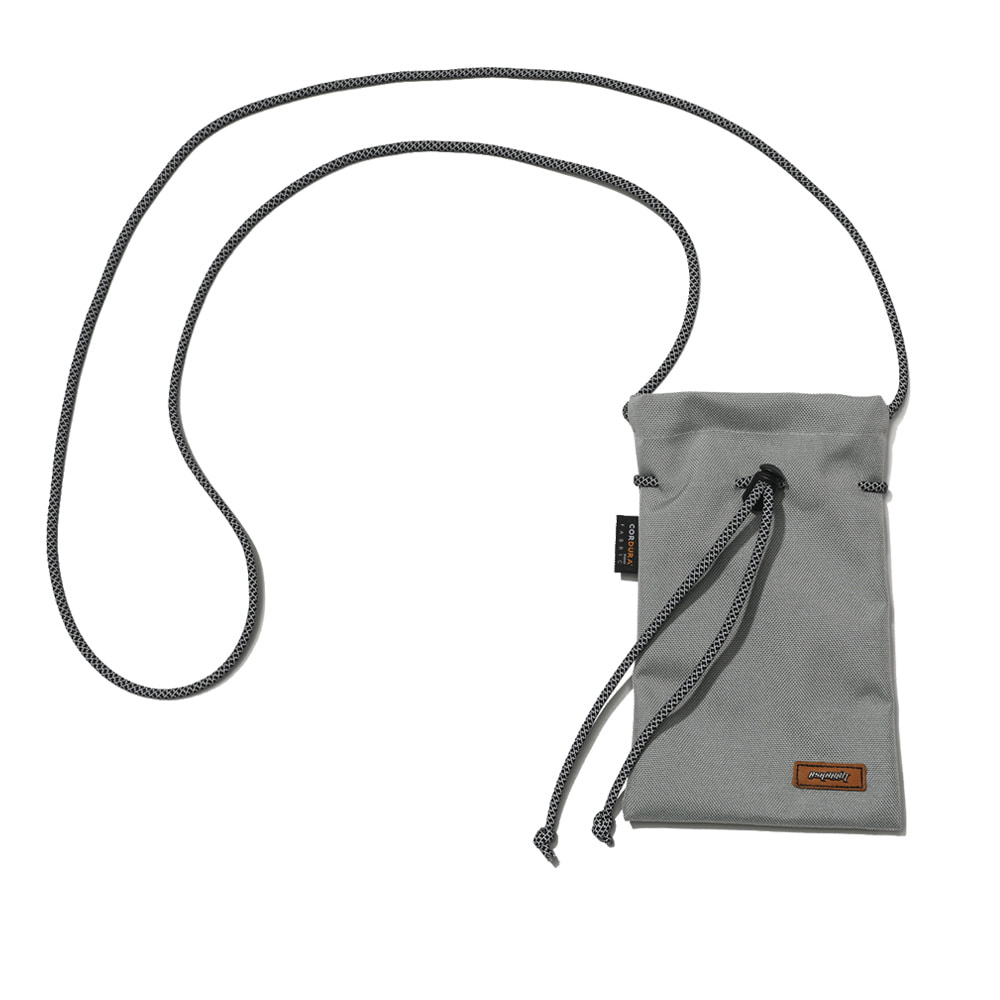 자체브랜드 DRAW SCOTCH STRING BAG GRAY