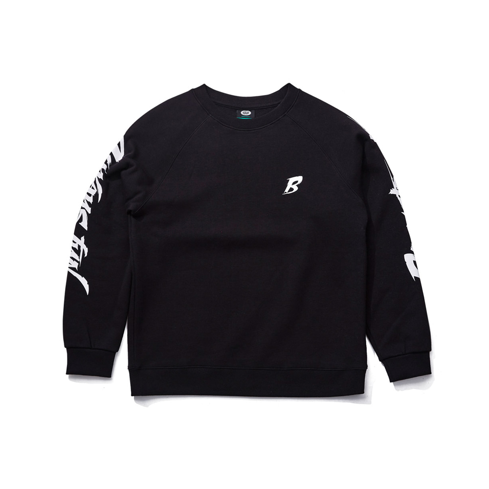 BSRABBIT BACKSTREET CREWNECK BLACK
