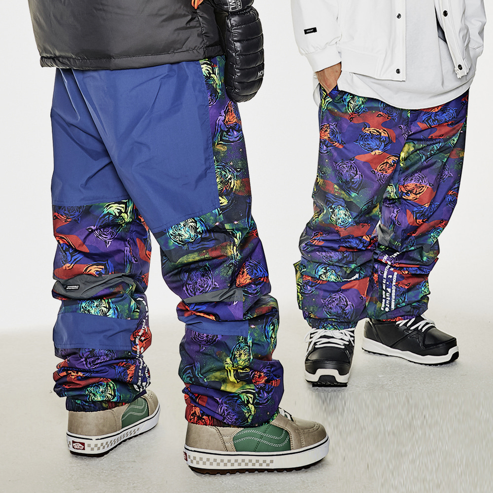 BSRABBIT BSR ACTIVE JOGGER PANTS TIGER CAMO