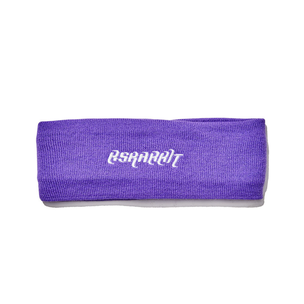BSRABBIT BSRABBIT KNIT HEADBAND PURPLE