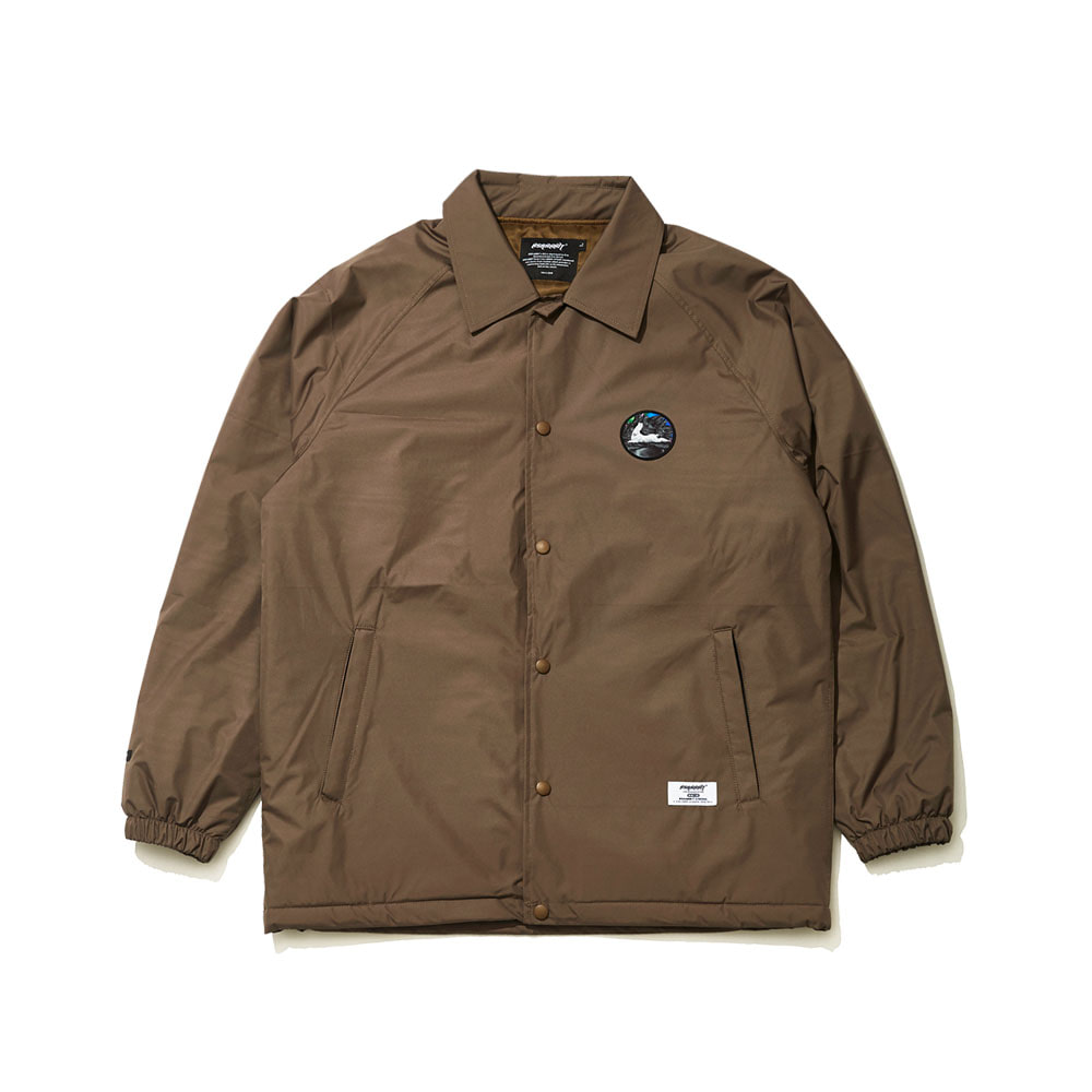 BSRABBIT BSR WARM COACH JACKET KHAKI