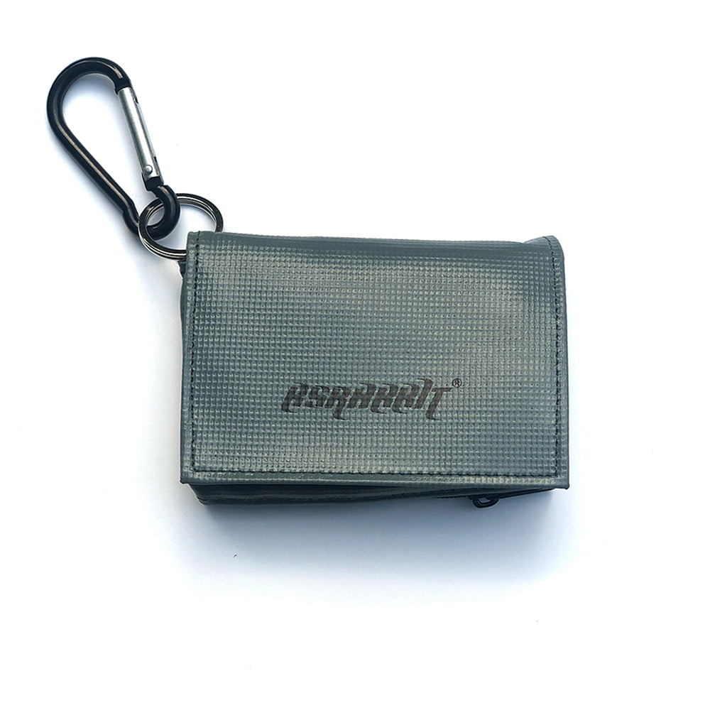 BSRABBIT SEASON PASS & CARD CASE GRAY
