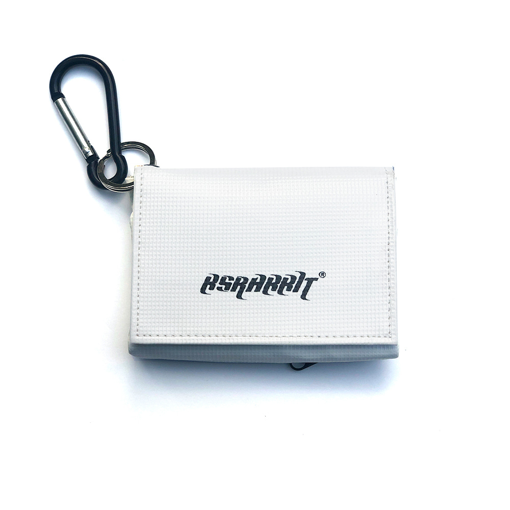 BSRABBIT SEASON PASS & CARD CASE WHITE