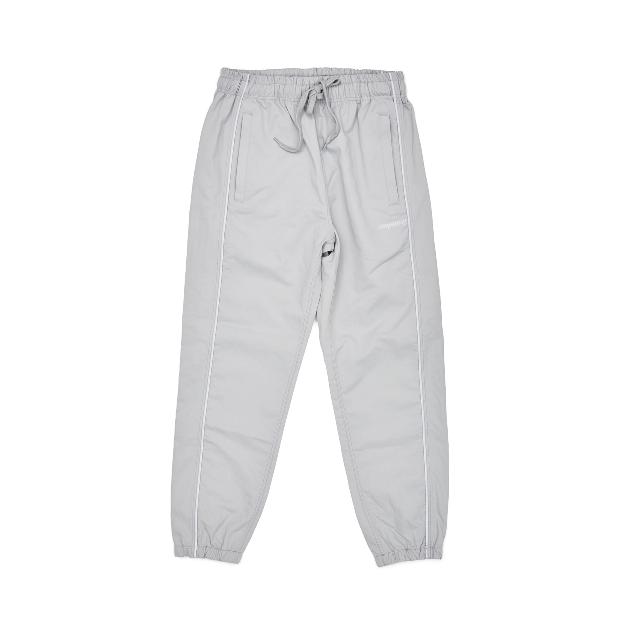BSRABBIT BSR WASHING TWILL JOGGER PANTS GRAY