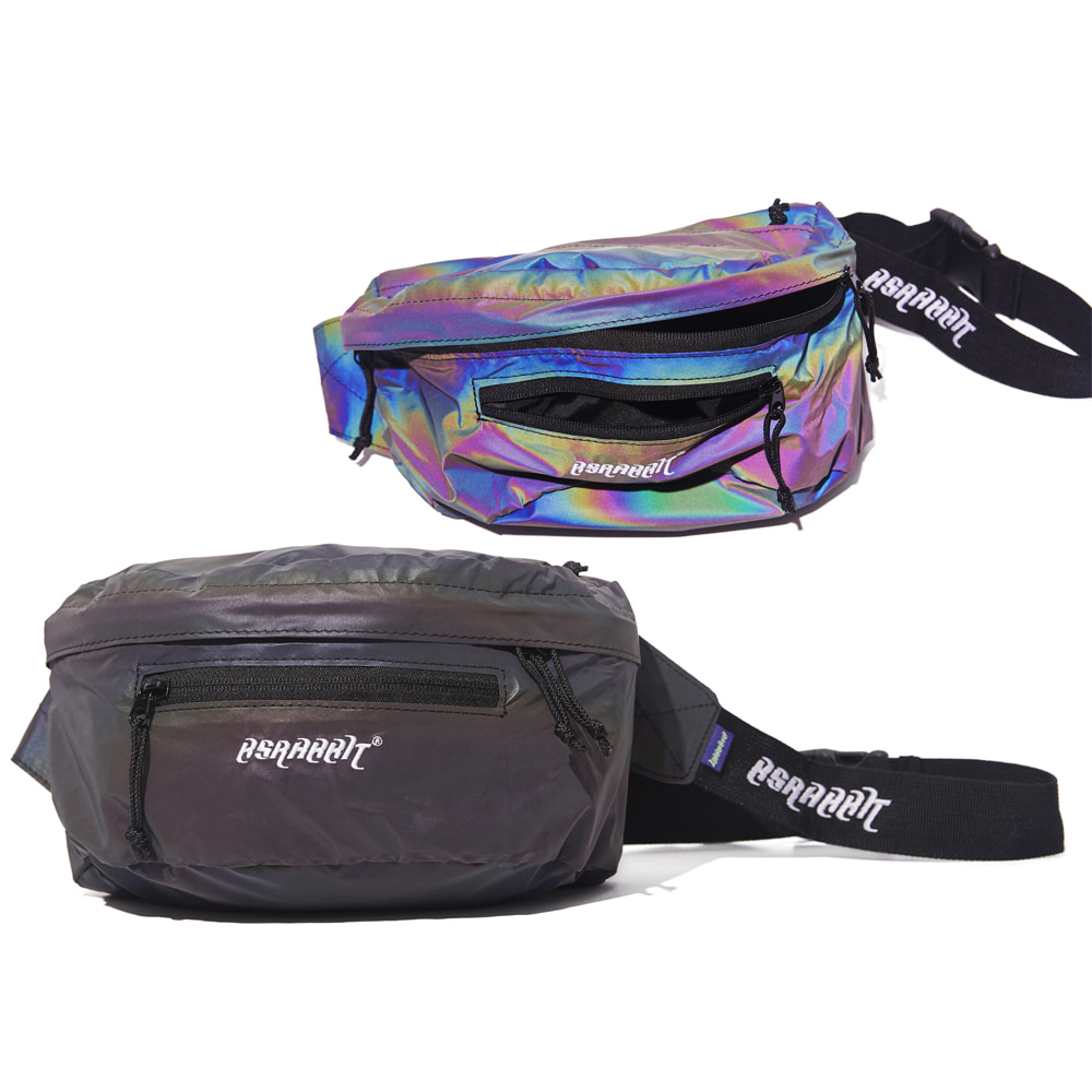 자체브랜드 BSRBT IDEAL WAIST BAG RAINBOW REFLECTIVE