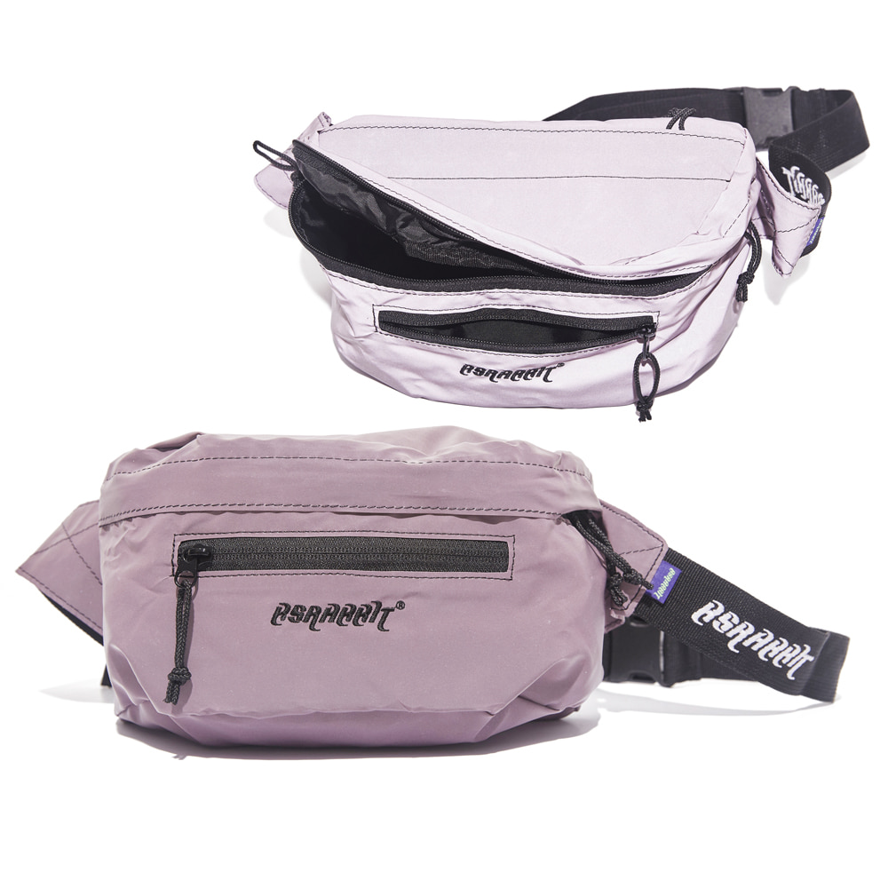 자체브랜드 BSRBT IDEAL WAIST BAG PINK REFLECTIVE