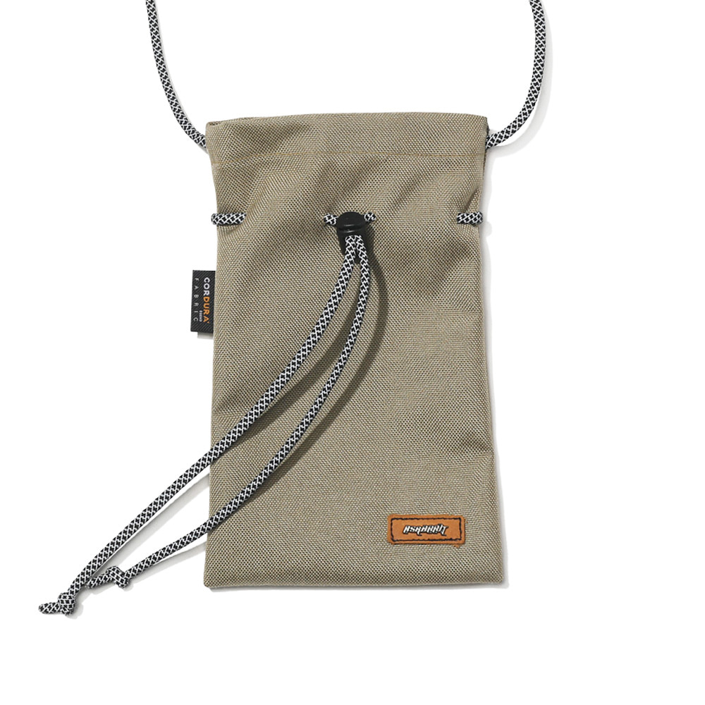자체브랜드 DRAW SCOTCH STRING BAG BEIGE